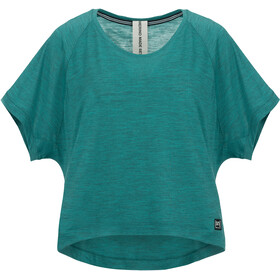 super.natural Motion Peyto Camiseta Mujer, aloe green 3d